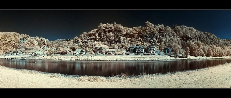 Infrarotfotografie als Panorama