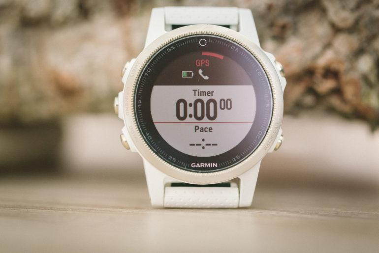 Fenix 5S - Warten auf GPS