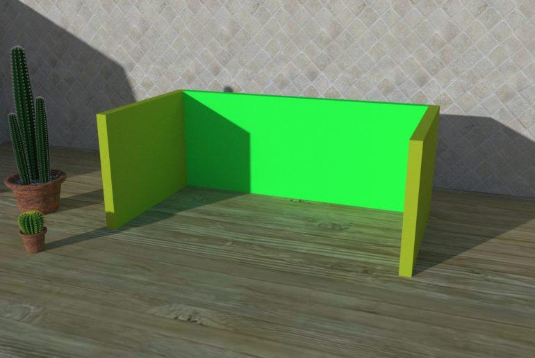 Zusammenbau eines Anzuchtkasten - Verkleben