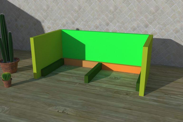 Bild 2: Bodenteile hinzufügen