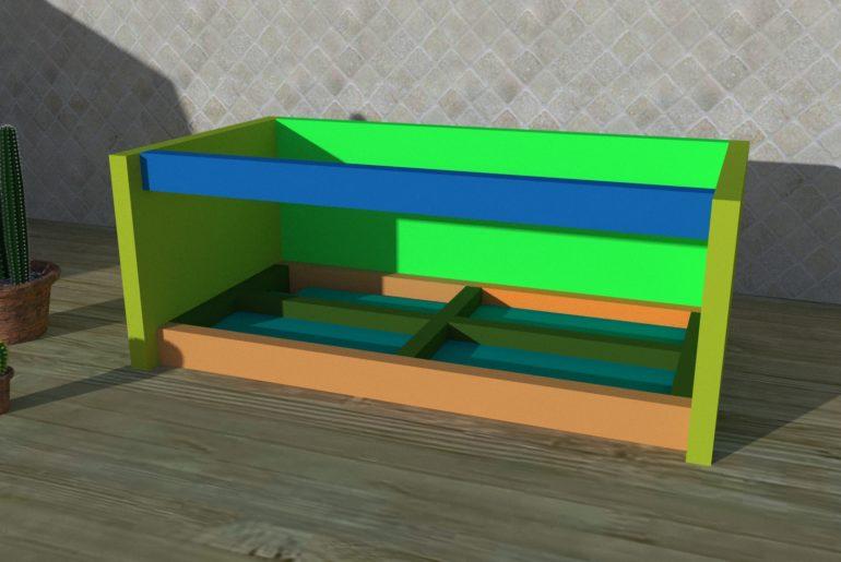 Bild 3: Montage der Dachblende
