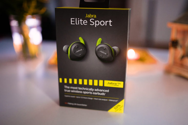 Jabra Elite Sport (lime)