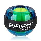 EVEREST FITNESS Energyball Zum Training der Hand- und Armmuskulatur mit gummiertem Griffbereich und Gehäuse aus bruchfestem Kunststoff | 2 Jahre Zufriedenheitsgarantie | Handtrainer