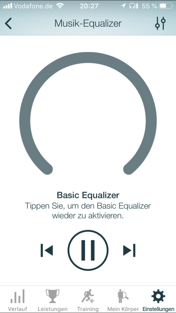 Basic Equalizer - Jabra Elite Sport